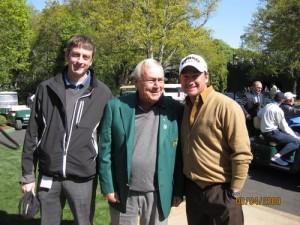 Karl Morris, Arnold Palmer, and Graeme McDowell
