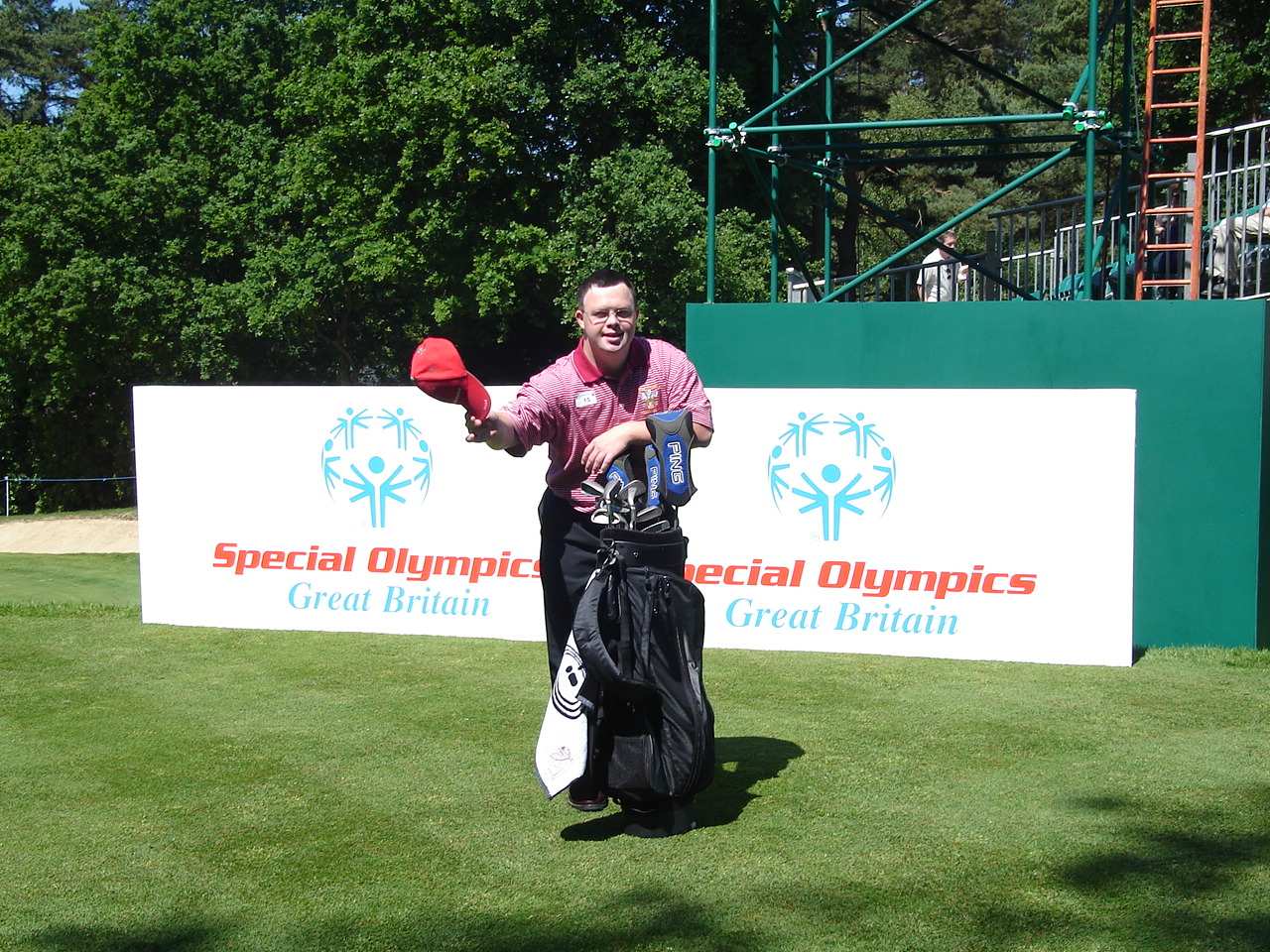 A true ambassador of golf!