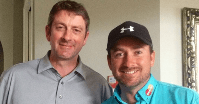 Karl Morris and Graeme McDowell