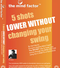 5 Shot Lower By Karl Morris Mind Factor